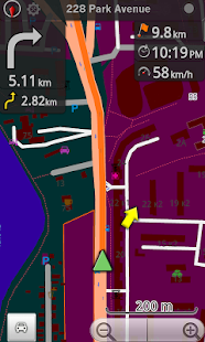 Michigan, USA GPS Navigation - screenshot