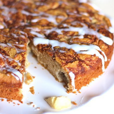 Grain-free Apple Spice Coffee Cake (SCD and Paleo)
