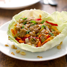 Light Thai Chicken Lettuce Wraps