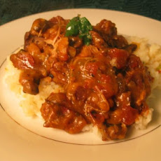Slow-Cooker Chicken Chasseur