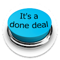 It's a done deal Button icon
