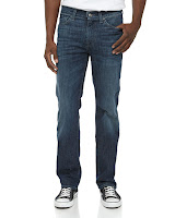7 For All Mankind Slimmy Straight-Leg Jeans, Authentic Vintage Blue - (36)