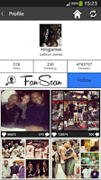 Screenshot of FanScan