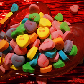 Love Hearts by Liz Pascal - Public Holidays Valentines Day