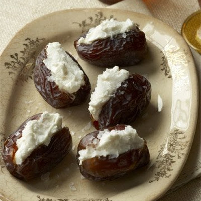 Goat-Cheese-Stuffed Dates