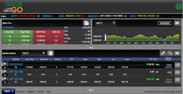 Trade on the Go for tablet- screenshot thumbnail