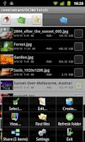 Screenshot of Dual File Manager XT