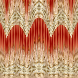 Curtains by Tina Dare - Illustration Abstract & Patterns ( abstract, patterns, designs, lines, lacy, shapes )