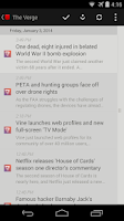 Screenshot of Press (RSS Reader)
