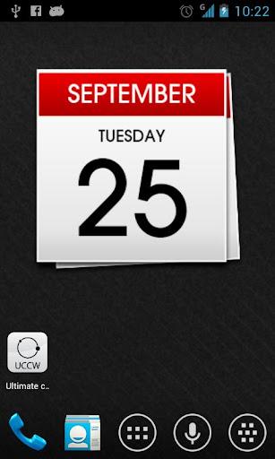 Calendar uccw skin