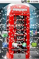 Screenshot of UK Snow Globe Live Wallpaper
