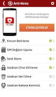 Screenshot of Avea Güvenlik