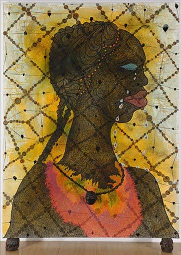 No Woman, No Cry, Chris Ofili
