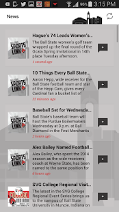 Ball State Sports Link - screenshot
