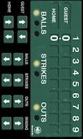Screenshot of Baseball Scoreboard