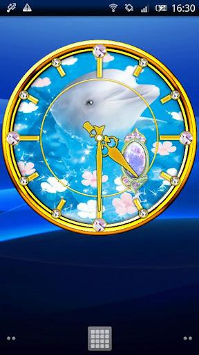 ドルフィン時計☆ムーンストーン