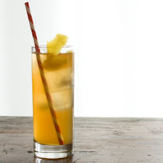Smoky Iced Tea and Whiskey Cooler