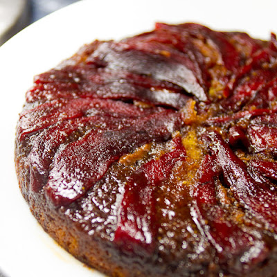 Sweet Pepper Upside-Down Cake