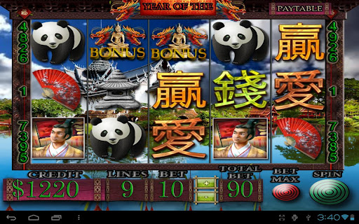 Year Of The Dragon Video Slot