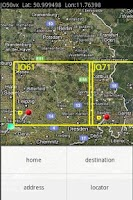 Screenshot of QTH Locator Droid