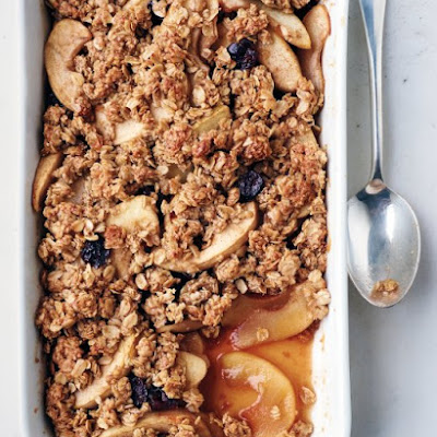 Apple Oat Crisp
