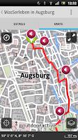 Screenshot of Bayerisch-Schwaben-Lauschtour
