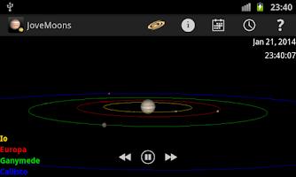 Screenshot of Jupiter Simulator