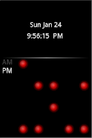 Screenshot of Binary Clock Lite