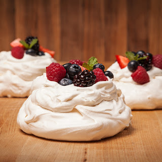 BERRY PAVLOVA WITH LIMONCELLO CREAM