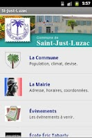 Screenshot of St-Just-Luzac