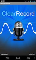 Screenshot of ClearRecordLite