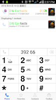 Screenshot of DW Contacts IOS 7 Theme
