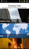 Screenshot of Latvia Travel Guide