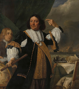 RIJKS: Bartholomeus van der Helst, Ludolf Bakhuysen: painting 1668