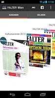 Screenshot of FALTER Wien