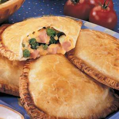 Broccoli Ham Turnovers