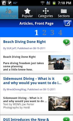 ScubaBoard Mobile App