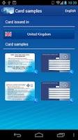 Screenshot of European Health Insurance Card