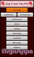 Screenshot of Say I Love You