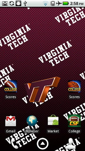 Virginia Tech Live Wallpaper
