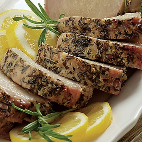 Lemon and Garlic Pork Tenderloin with Roasted Potatoes