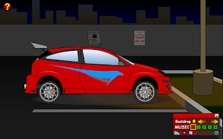 Screenshot of Create Your Car