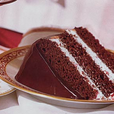Peppermint Fudge Cake