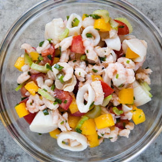 Mixed Seafood Salad Recipes