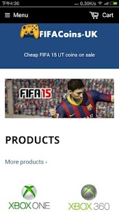 buy Coins - FUT 15 coins - screenshot