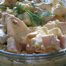 Russian Potato Salad (Salad Olivier)