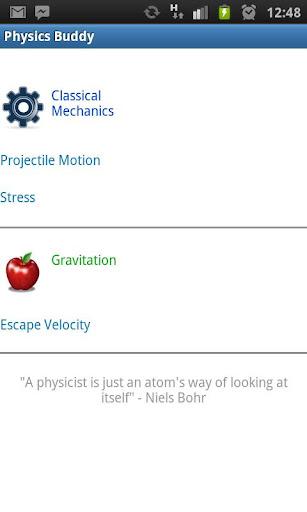 Physics Buddy