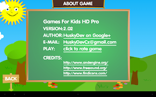 Screenshot of Games For Kids HD Pro