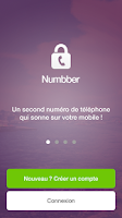 Screenshot of Numbber - Mon Second Numéro