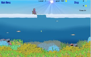 Screenshot of Ice Fishing Arcade